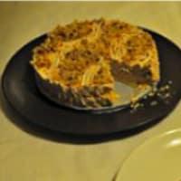 Cheesecake con crema alle nocciole senza glutine e senza uova