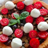 Torta salata con melanzane, pomodori e mozzarelline step 8