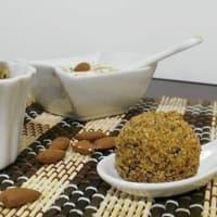 Albóndigas almendras de Sicilia y la quinua