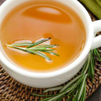 Decoction with rosemary
