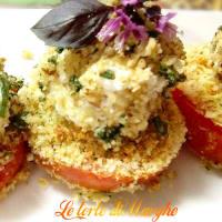 los tomates fritos con pistachos cabra