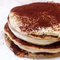 Coffee Coconut Pancakes