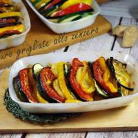 Las verduras al horno en el jengibre paso 8