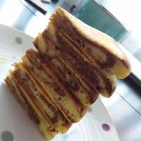 panqueque de cacao y naranja paso 4