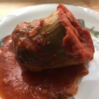 alcachofas rellenas con salsa