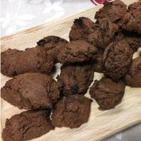 Biscotti al cioccolato, orzo e arancia