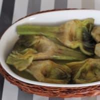 Empanada cocida al horno alcachofas rellenas paso 4