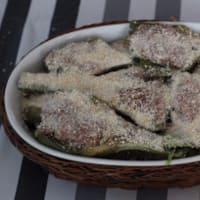 Empanada cocida al horno alcachofas rellenas paso 6