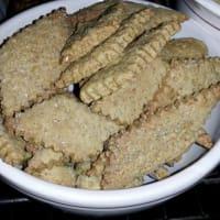 Biscotti integrali allo zenzero