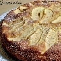 Tarta de manzana con trocitos de chocolate