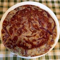 Tortilla con cebolla de Tropea