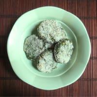 Albóndigas quinua espinacas y garbanzos