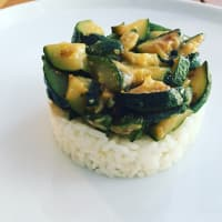 Rice and Zucchini