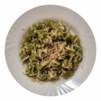 brócoli con queso y pimienta Ñoquis