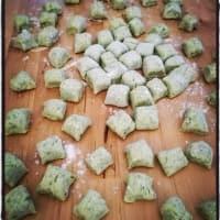 brócoli con queso y pimienta Ñoquis paso 3