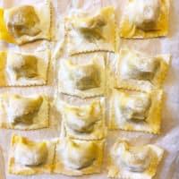 Calabaza Tortelli alla parmesana