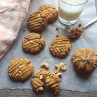 lactosa galletas de mantequilla de cacahuete