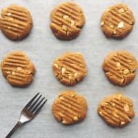 lactosa galletas de mantequilla de cacahuete paso 3