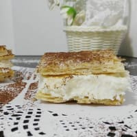 Coconut Squares and ricotta