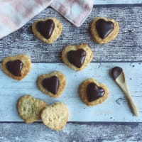 Galletas de vainilla y chocolate vegana paso 8
