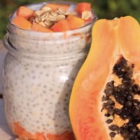 Chia pudding alla papaya