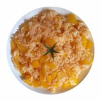 Risotto with yellow peppers