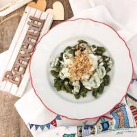 Gnocchi di pane raffermo e spinaci