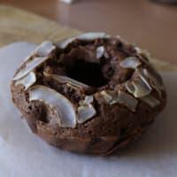 Ciambellina al cocco e cacao senza glutine