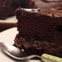 Chocolate cake avocado
