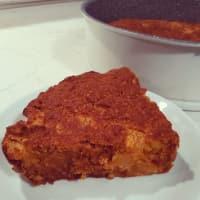 Torta di mandorle, carote e albicocche