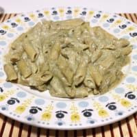 Pasta con crema de alcachofa
