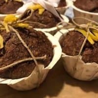 Muffin ciocco arancia vegan