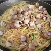 Espaguetis con almejas paso 9