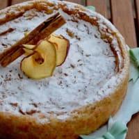 tarta de manzana cremosa vegetariana paso 4