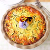 calabacín Frittata al horno