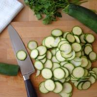 Frittata di zucchine al forno step 1
