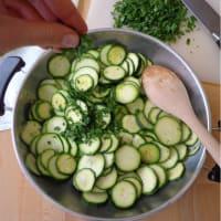 Frittata di zucchine al forno step 2