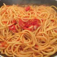 amatriciana bucatini paso 8