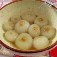 cebollas de primavera en la sartén paso 7
