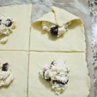 Bocconcini queso y aceitunas paso 5