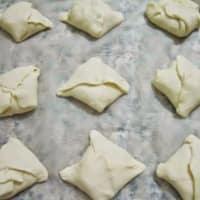 Bocconcini queso y aceitunas paso 6