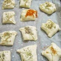Bocconcini queso y aceitunas paso 7