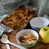 apple crumble verduras