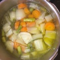 Sopa en de marzo de paso 3
