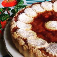 pastel de queso Tarta con fresas silvestres