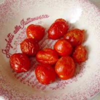 Pasta con tomates cherry y pesto de cohete paso 3