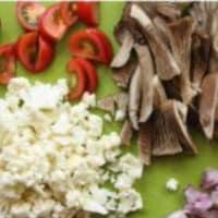 Rigatoni con la coliflor, salchichas y setas paso 2