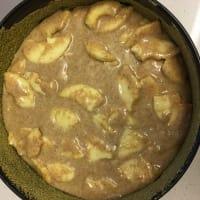 tarta de manzanas integral paso 4