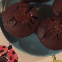 magdalenas de chocolate veganas