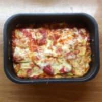 Zucchini parmigiane step 5